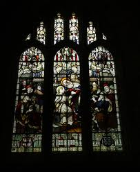 Westlake stained glass in Horsenden Church, Bledlow Parish